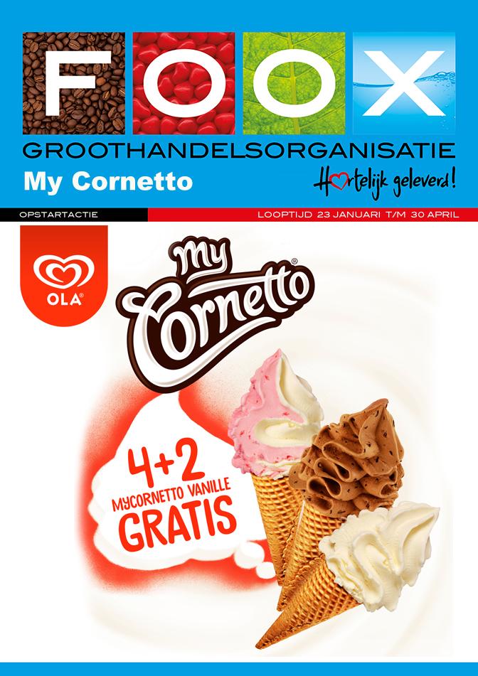 My Cornetto Opstartactie 2018