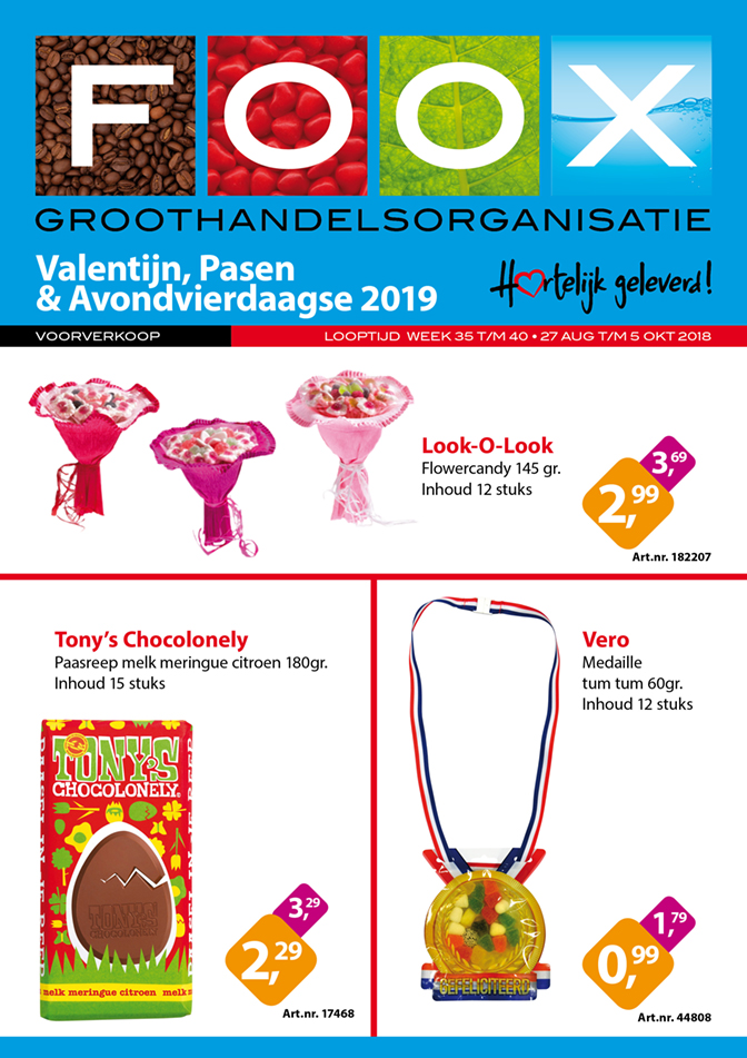 Valentijn, Pasen & A4Daagse 2019