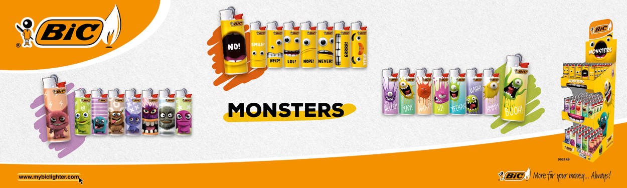 BIC Monsters